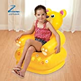 #3: Zomaark Intex Inflatable Animal Air Chair For 3-8 Years Kids (Yellow)