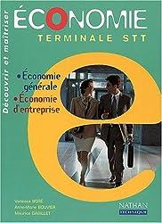 Economie Terminale STT. Economie générale, Economie d'entreprise