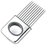 Picture Of NiceButy Easy Onion Holder Slicer Vegetable tools Tomato Cutter Stainless Steel Kitchen Gadgets