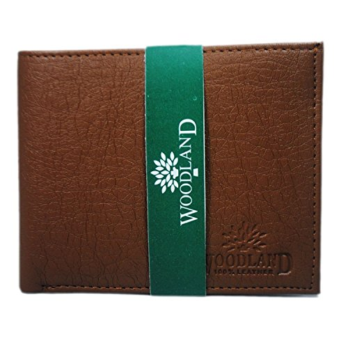 Woodland Brown Men's leather Wallet  available at amazon for Rs.249