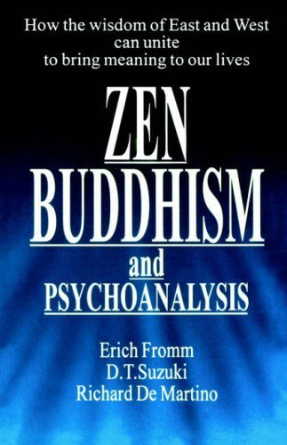 Zen Buddhism and Psychoanalysis (Condor Books) by Erich Fromm, etc. Published by Souvenir Press Ltd (1974)
