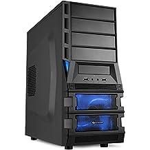 Ultra 8-Kern Multimedia Aufrüst-COMPUTER mit 3 Jahren Garantie! | 8-Kern AMD FX 8320E 8 x 4000 MHz | 8192MB DDR3-1600 | 400Watt Gaming-Netzteil | AMD Radeon HD 3000 DVI/VGA mit DirectX11 Technology | AM3 Mainboard | 6 USB-Anschlüsse | Windows10 ready | GDATA Internet Security | #5289