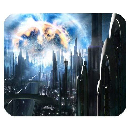 System-PlanetenMausunterlage, Galaxie-Nebelfleck-Raum-Planeten-Rechteck-Mausunterlage Paris Coaster