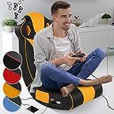 Soundsessel in diversen Farben | aus Kunstleder, zusammenklappbar, mit Lautsprecher, Surround und...