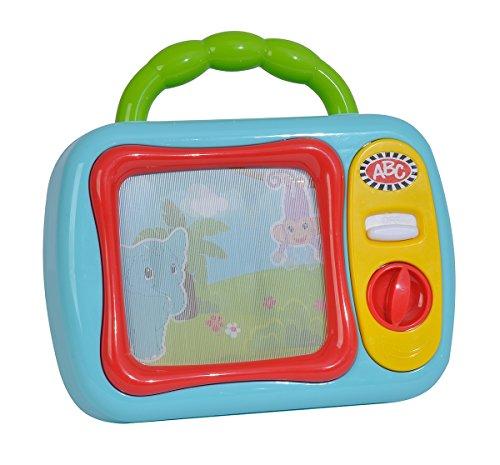 Simba ABC Erster TV, Spiel Fernseher, Kinder, Baby Spielzeug, mit Sound, Tragbar, 104010106