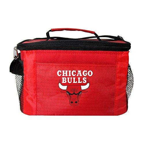 Kolder NBA Team Logo Kühltasche, 6 Stück, Chicago Bulls Red - Red Bull Logo
