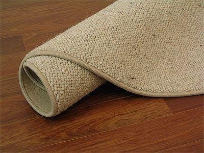 Teppich rund beige  Natur Teppich Wolle Berber Beige Rund in 7 Größen: Amazon.de ...