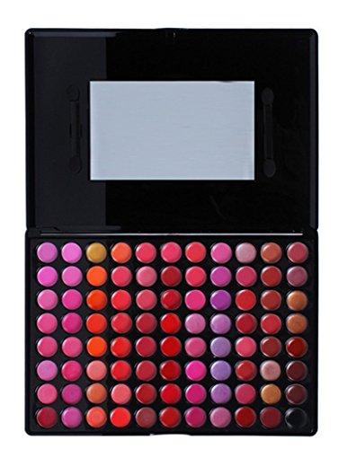 FantasyDay® 88 Couleurs Palette de Maquillage Rouge à Lèvres Lip Gloss Cosmétique Set - Convient Parfaitement pour une Utilisation Professionnelle ou à la Maison