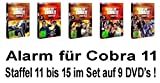 Staffel 11-15 (9 DVDs)