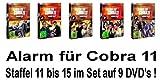 Alarm für Cobra 11 - Staffel 11-15 (9 DVDs)