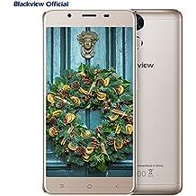 Blackview P2 Lite - 6000mAh Moviles Libres Baratos - Android 7.0 Dual SIM 5.5 pulgadas FHD - Octa Core 3GB RAM 32GB ROM - 13MP Cámara Smartphone libre GPS