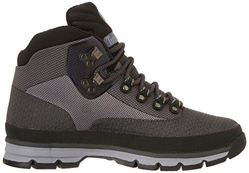 Timberland Unisex-Erwachsene Euro Hiker Jacquard 35t Klassische Stiefel Schwarz (Black)