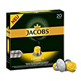 Jacobs Kapseln Lungo Leggero -Intensität 4 - 200 Nespresso (R)* kompatible Kaffeekapseln aus Aluminium, 10er Pack  (10x20 Kapseln)