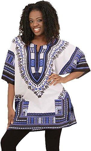 Damen traditionell Afrika Drucken Nation Baumwolle die Kleid zaa1006DK27