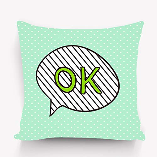 zexuandiy Kissenbezüge Cotton Velvet Square Throw Pillow Case Decorative Cushion Cover Pillowcase for Sofa 18