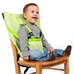Pueri Baby High Chair Harness Feeding Booster Seat Strap Harness Belt Portable Travel Safety High Chair Seat Cover for…