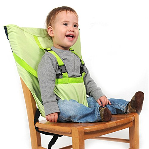 Pueri Baby High Chair Harness Feeding Booster Seat Strap Harness Belt Portable Travel Safety High Chair Seat Cover for Baby Kid Toddler 51BFMf 2Boi4L