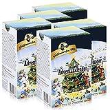 Goldmännchen-Tee Adventskalender mit 24 Teesorten 50g Tanne (5er Pack)