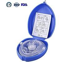 Aurelius-Tasche CPR-Maske für Erste-Hilfe-Reanimation-Gesichts-Schild-Maske, Einzelnutzung mit CE & ISO & FDA... preisvergleich bei billige-tabletten.eu