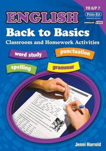English Homework: Back to Basics Activities for Class and Home