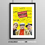 Only Fools and Horses Cast Signed Autograph A4 Poster Photo Print Photograph Artwork Wall Art Picture TV Show Series Memorabilia Gift David Jason Nicholas Lyndhurst Lennard Pearce (BLACK FRAMED & MOUNTED) - Memorabilia - amazon.co.uk