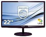 "Philips 227E6LDAD LCD Monitor 21.5"""