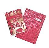 Matilda Myres Agenda 2020 1 jour par page Motif chardon doré rose Format A6 a6 baie
