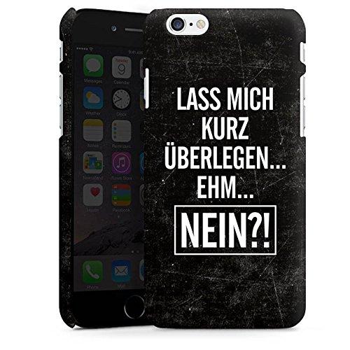 Apple iPhone X Silikon Hülle Case Schutzhülle Sprüche Statements Humor Premium Case matt