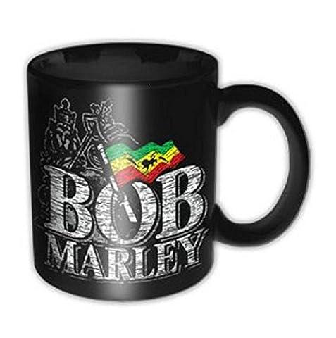 Bob Marley Distressed Logo one love nouveau officiel Boxed Tasse à café