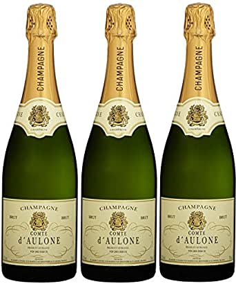Comted'AuloneChampagner Brut(3x0.75 l)