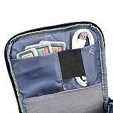 Evecase Camera Case, Digital SLR/DSLR Professional Camera Shoulder Bag For Compact system, Hybrid, Mirrorless, Micro 4/3 and High Zoom Camera - Black