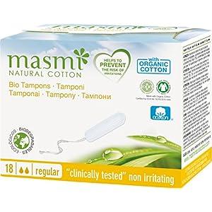 MASMI NATURAL COTTON Bio Tampons