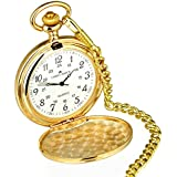 Personalised Engraved Silver or Gold Pocket Watch. Men's Gift. Free engraving