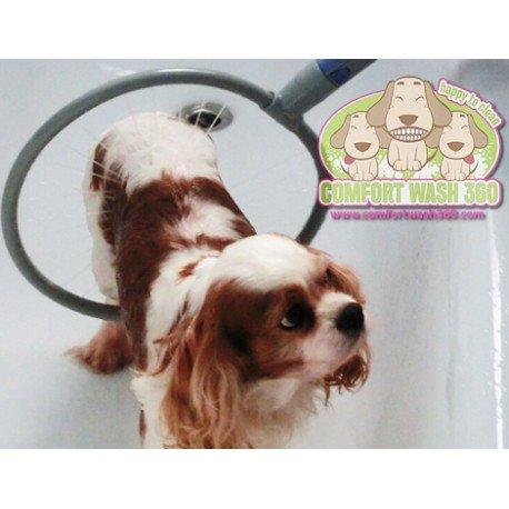 Comfort Wash 360- Dispositivo para lavado de perros en la bañera o...
