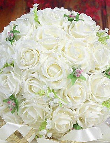 mode-bouquetfleurs-artificielles-un-bouquet-de-30-roses-pe-de-simulation-de-mariage-bouquet-de-maria