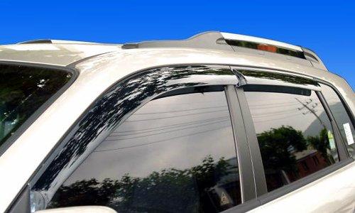Windabweiser Regenabweiser getönt 4 Teile Safe Window Visor Tuning (Hyundai Window Visor)