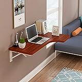 Love-zhuozi Klappbare Wand-Schreibtisch-Wand-Hängetisch Esstisch Tisch Computertisch Wand Hinweis Schreibtisch Falt (Farbe : A, größe : 120 * 70 * 50cm)