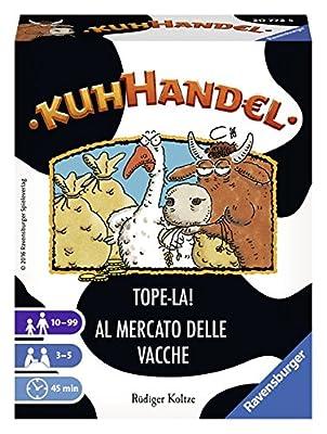 Ravensburger - 20772 - Jeux de Cartes - Kuhhandel - Tope-là !