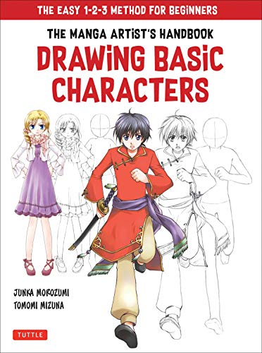 Basic Drawing Kit (The Manga Artist's Handbook: Drawing Basic Characters: The Easy 1-2-3 Method for Beginners (English Edition))