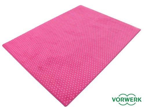 HEVO Vorwerk Bijou Petticoat pink Teppich | Kinderteppich | Spielteppich 200x250 cm Sonderedition