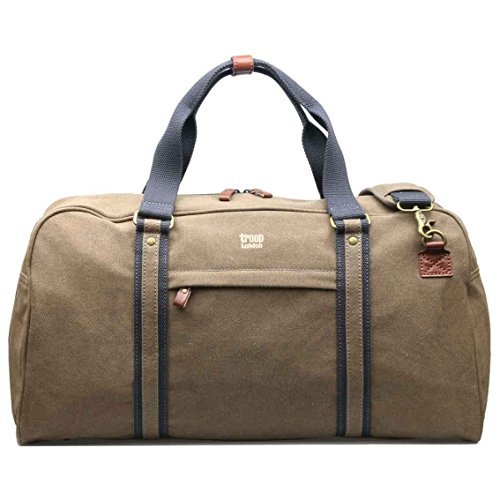 trp0389-troop-london-classic-canvas-travel-duffel-bag-canvas-holdall-brown