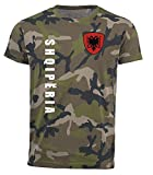 aprom Albanien T-Shirt Camouflage Trikot Look Army Sp/A (L)