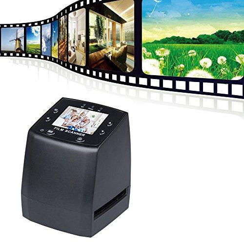 "AiteFeir USB 2.4 ""LCD Digital 35mm Film Negative Foto-Scanner Dia-Film-Scanner – Schwarz"