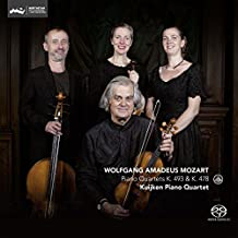 Piano Quartets K.493 & K.478