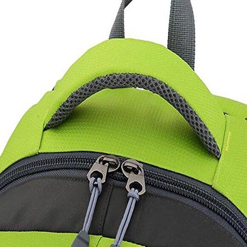 TUOZA Outdoor Bergsteigertasche Mit Großer Kapazität Stange Rucksack Black