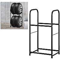 lars360Neumáticos carro Auto estanterías de armario estantería estantería (Neumáticos Soporte Altura Ajustable