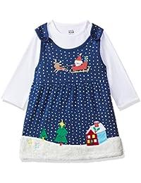 MINI KLUB Baby Girl's Cotton Clothing Set (Pack of 2)