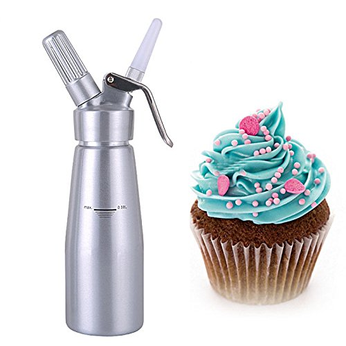 Sifón de crema mantequilla de postre de café dispensador de espuma de pistola eléctrica (1000ml)