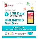 Best Teléfonos sin Contrato - Red Pocket Mobile Expresar días del Plan de Review