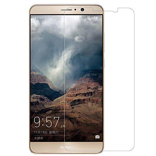 Preisvergleich Produktbild (2 Pack)Huawei Mate 9 Panzerglas - EUGO Gehärtetem Glas Schutzfolie Displayschutzfolie Panzerglas für Huawei Mate 9 - Transparent